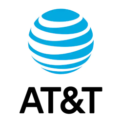 AT&T square logo