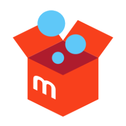 Mercari square logo